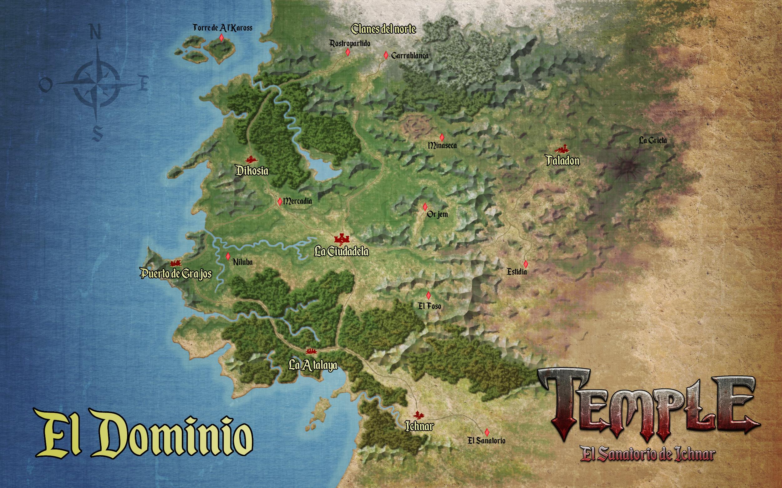 Mapa del Dominio