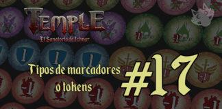 Tipos de marcadores o tokens