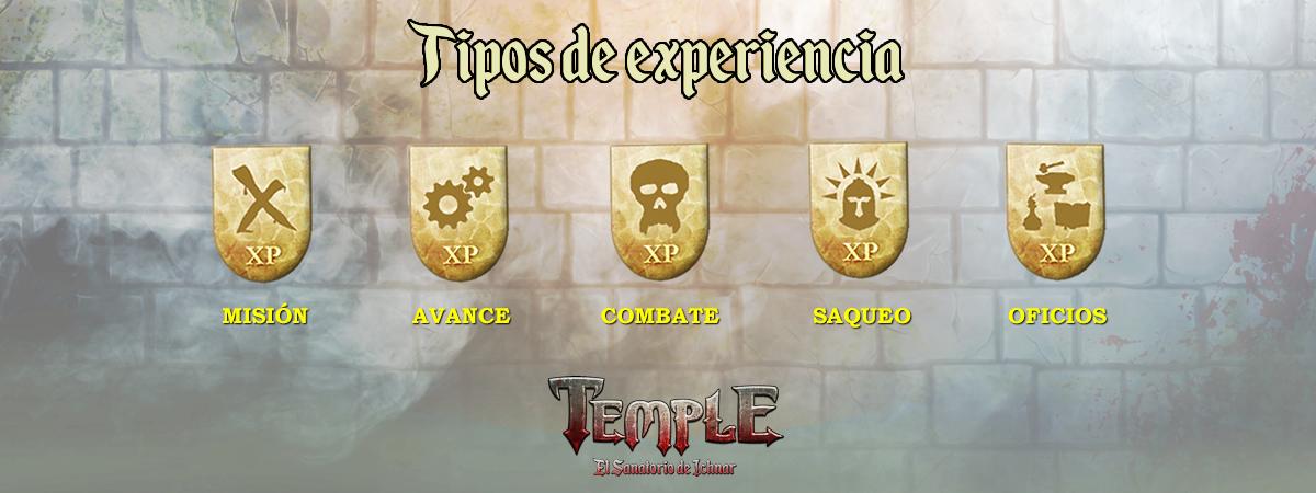 Tipos de experiencia
