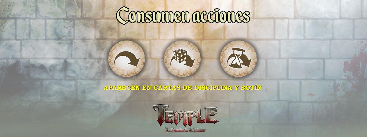 Consumen acción