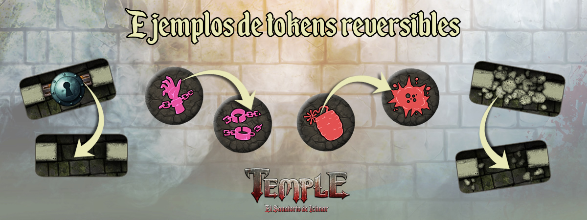 Tokens reversibles