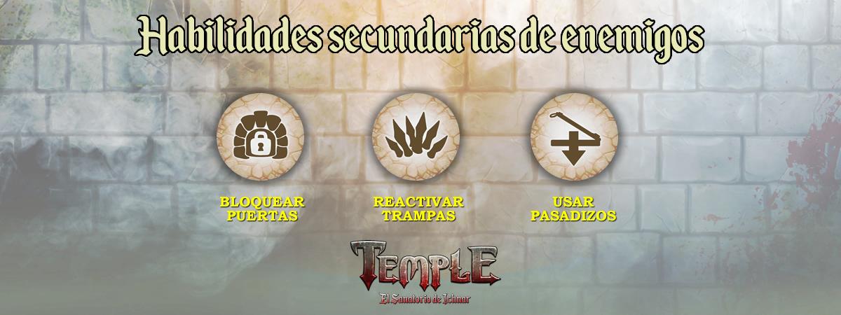 Habilidades secundarias de enemigos