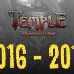 Temple cumple 2 años de desarrollo